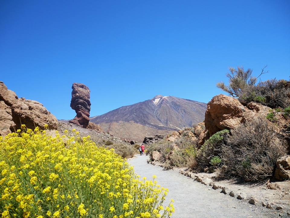 Roques de García, El Teide
