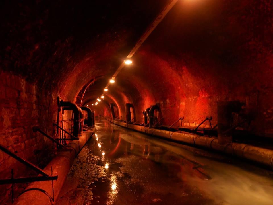De Ruien, canales subterráneos de Amberes