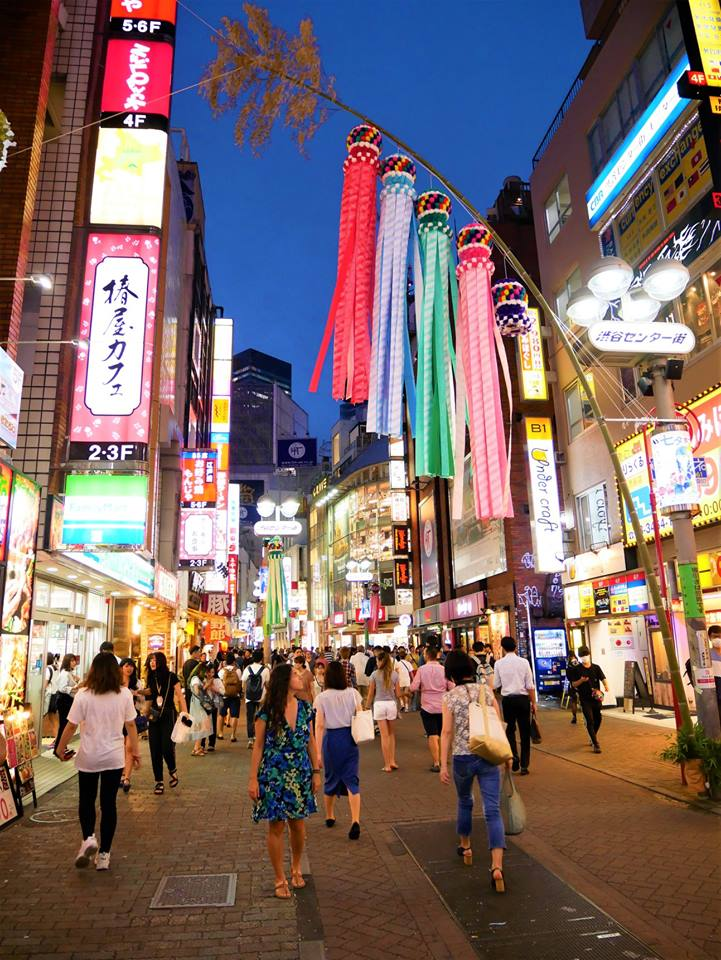 Caminando por Shibuya