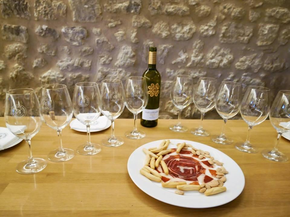 Cata de vinos con ibéricos