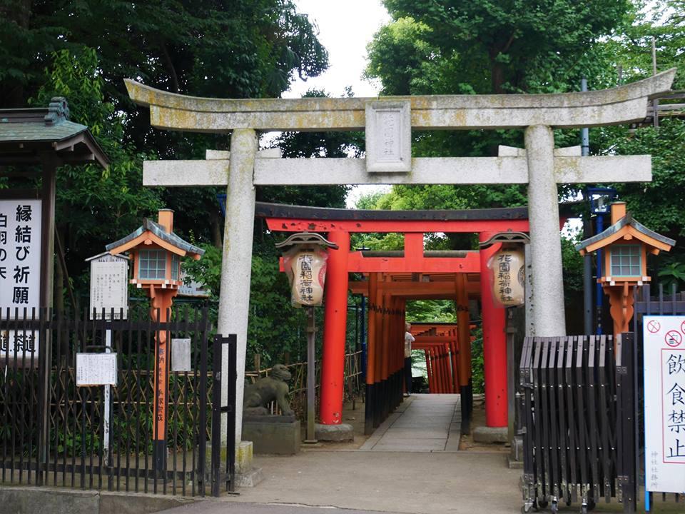 Toris en el parque de Ueno