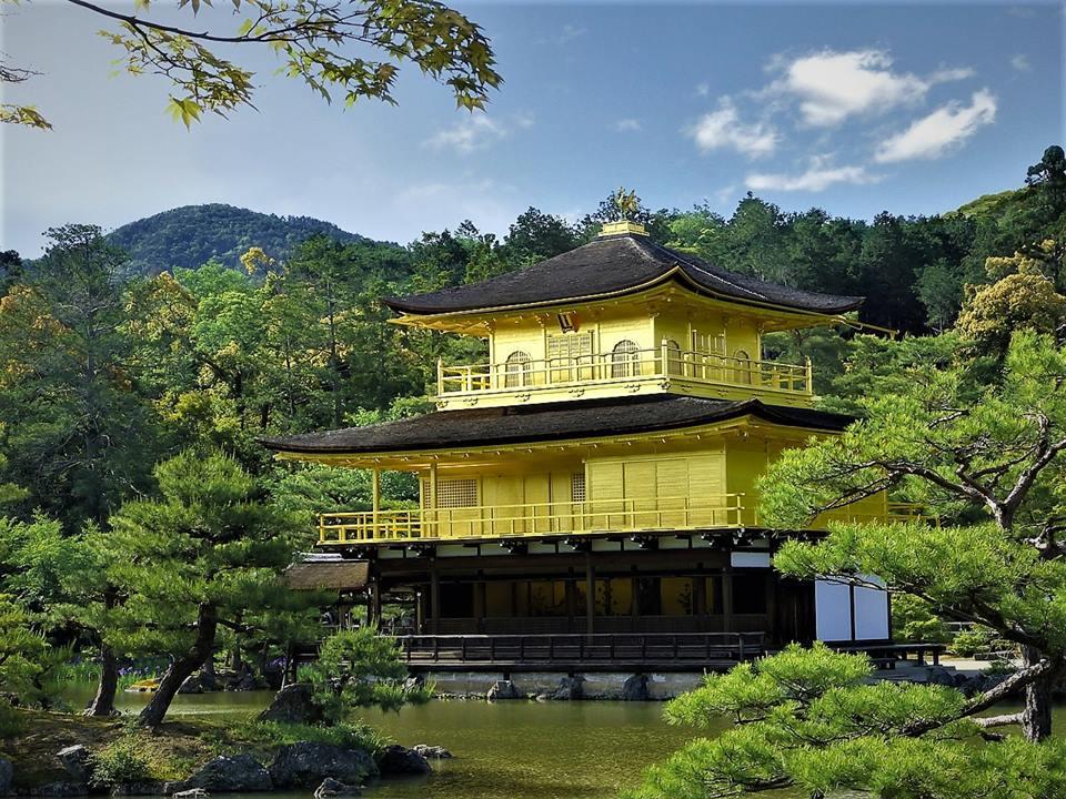 El Pabellón de Oro, Kioto