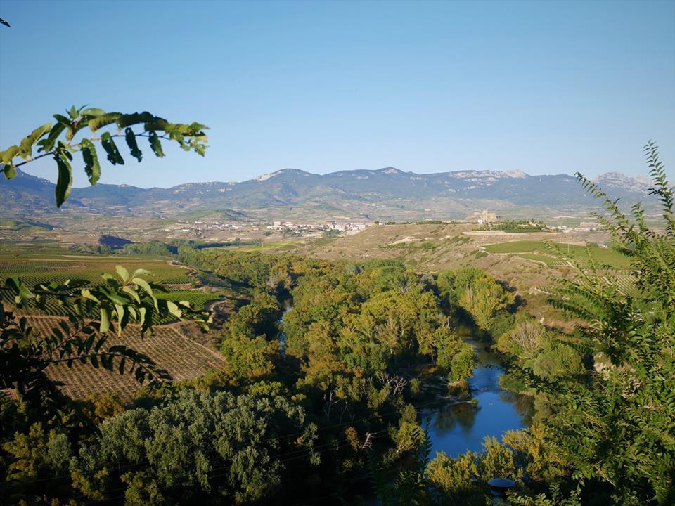 El río Ebro desde Briones, La Rioja