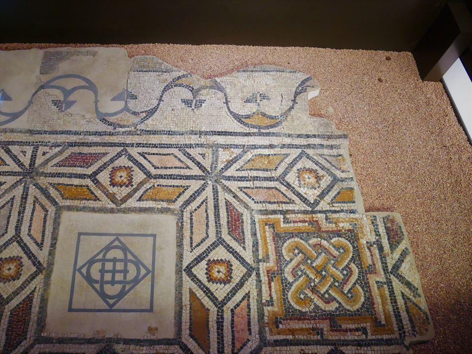 Fragmento de un mosaico romano
