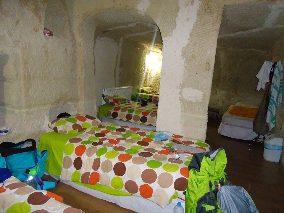 Habitación de la casa - cueva en Göreme