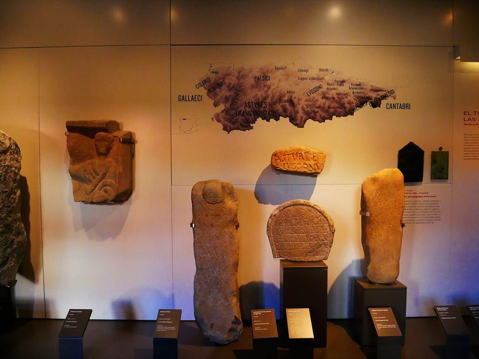 Piezas del museo Arqueológico de Asturias