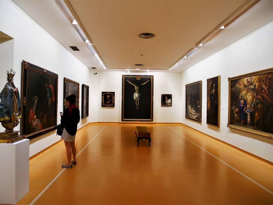Salas del Museo de Bellas Artes de Asturias