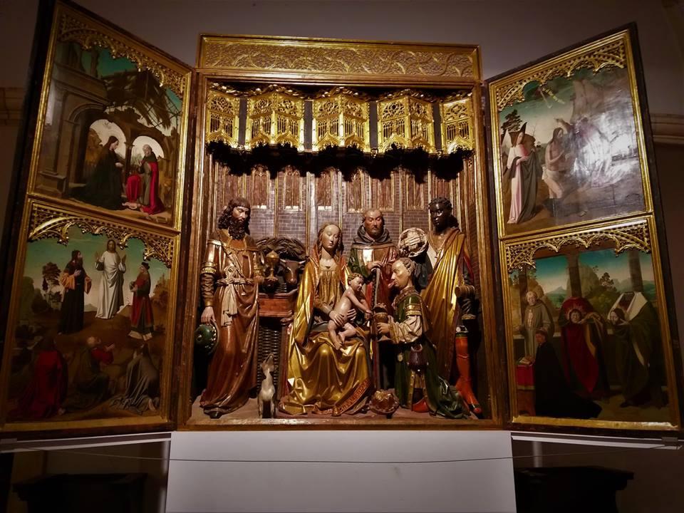 Tríptico de la Adoración de los Reyes Magos, Colegiata de Covarrubias