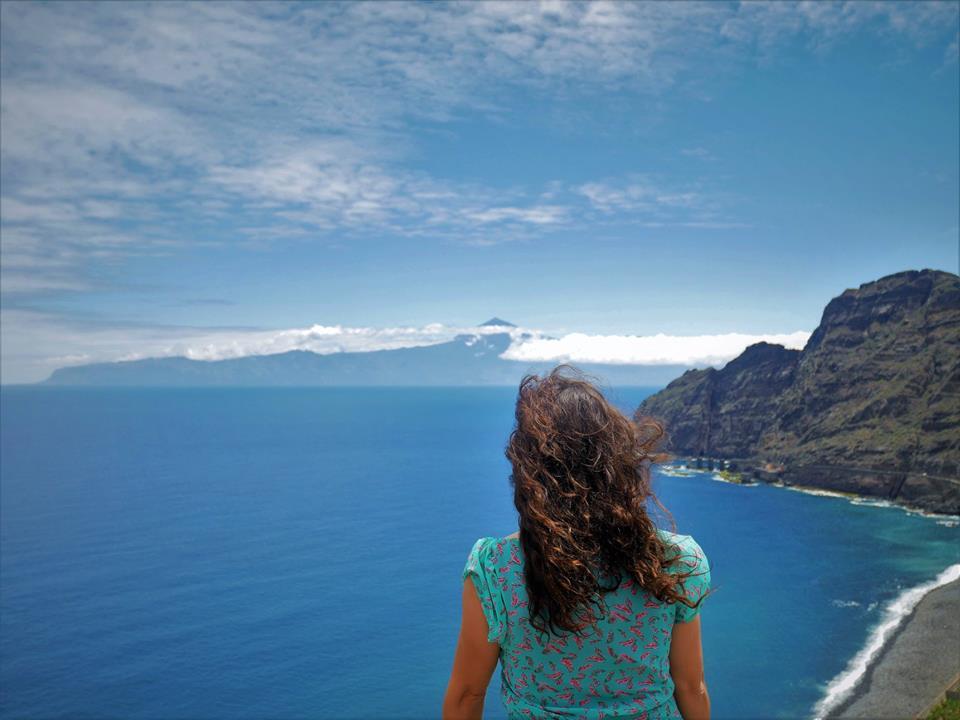 El Teide y Tenerife desde la Gomera