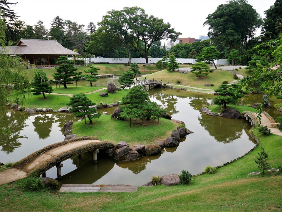 Estanque de Kanazawa