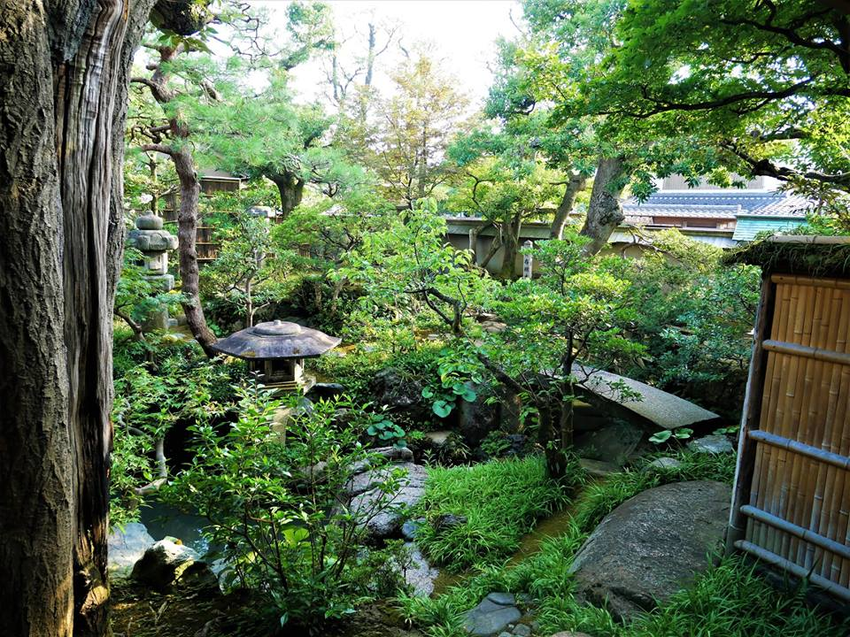 Jardín, casa-museo de un samurái en Kanazawa