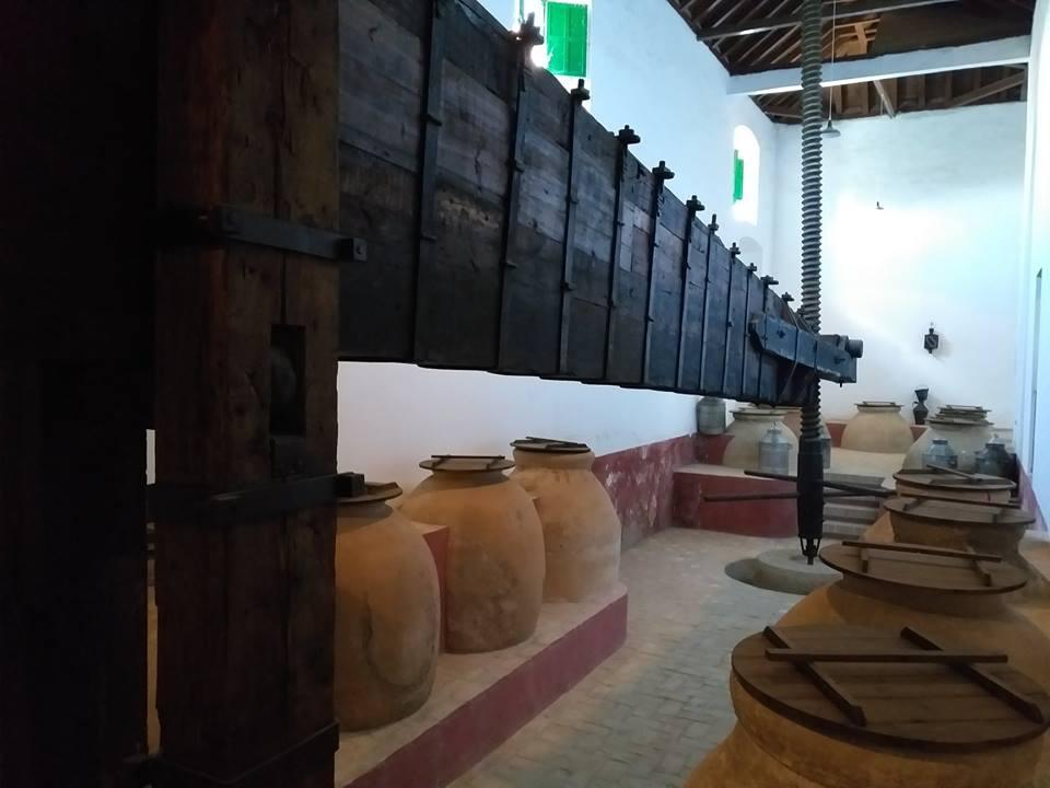 Viga de madera de ébano, Almazara del S.XVII