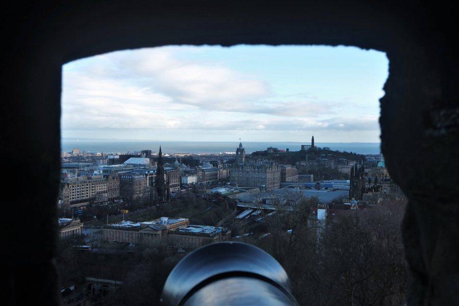 Cañón a Edimburgo