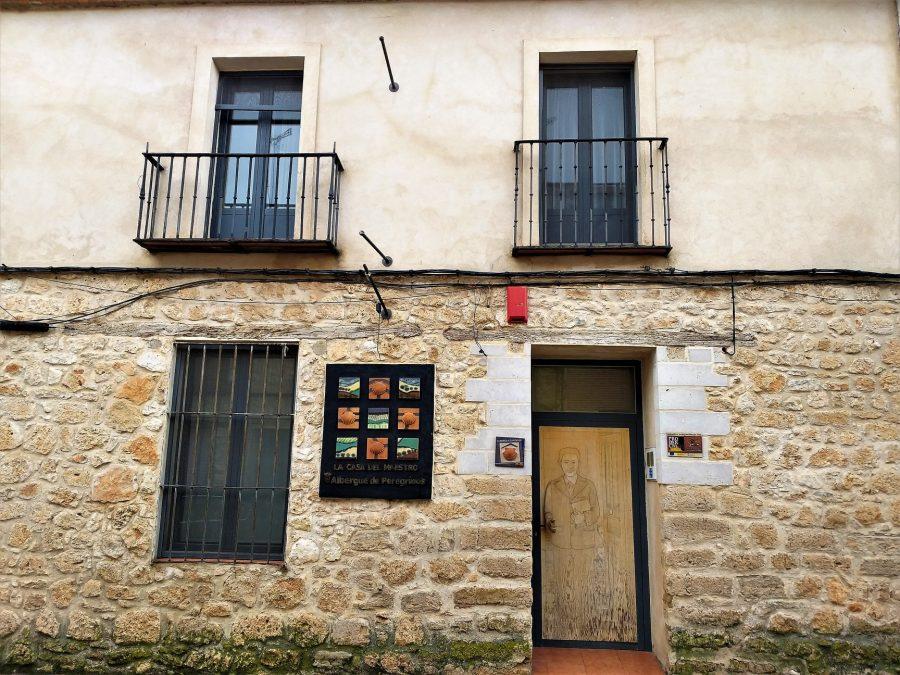Casa del Maestro, albergue de Ciguñuela, Camino de Madrid a Santiago