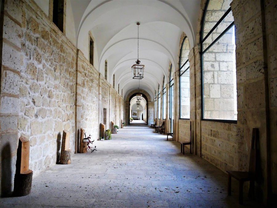 Claustro del monasterio de la Santa Espina