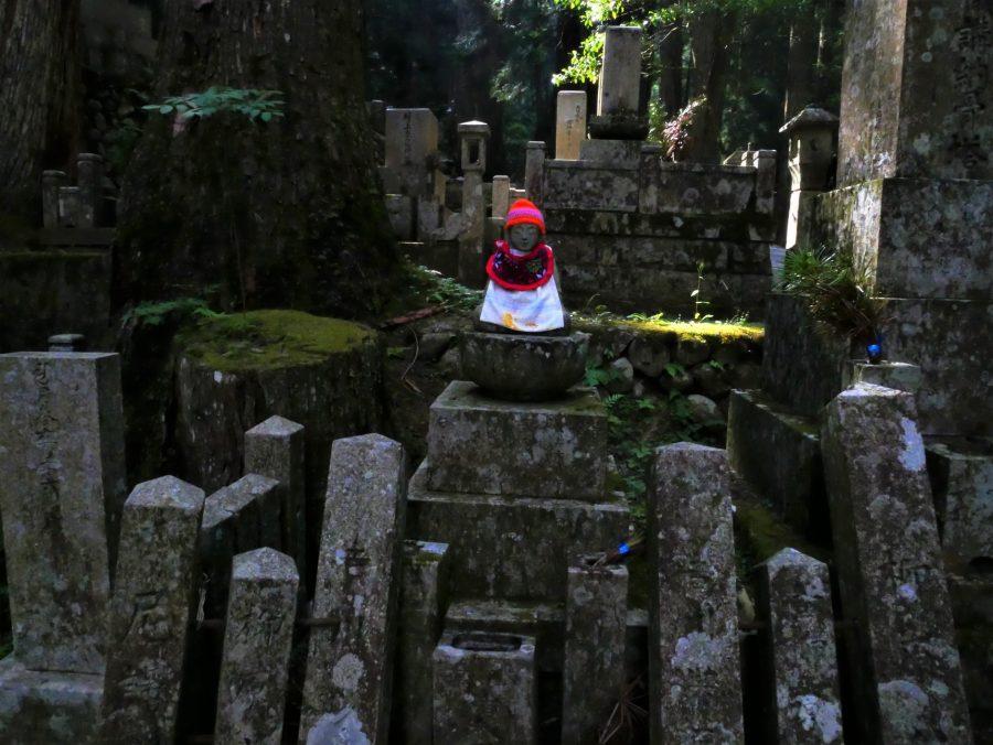 Estupas, cementerio de Okunoin