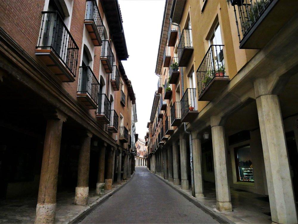 Rua Mayor, Medina de Rioseco