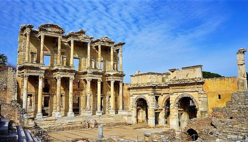 Biblioteca de Celso, visitar Éfeso
