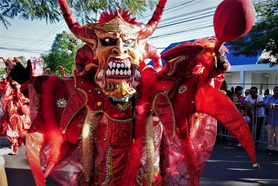 Diablos cojuelos, el Carnaval de La Vega en República Dominicana