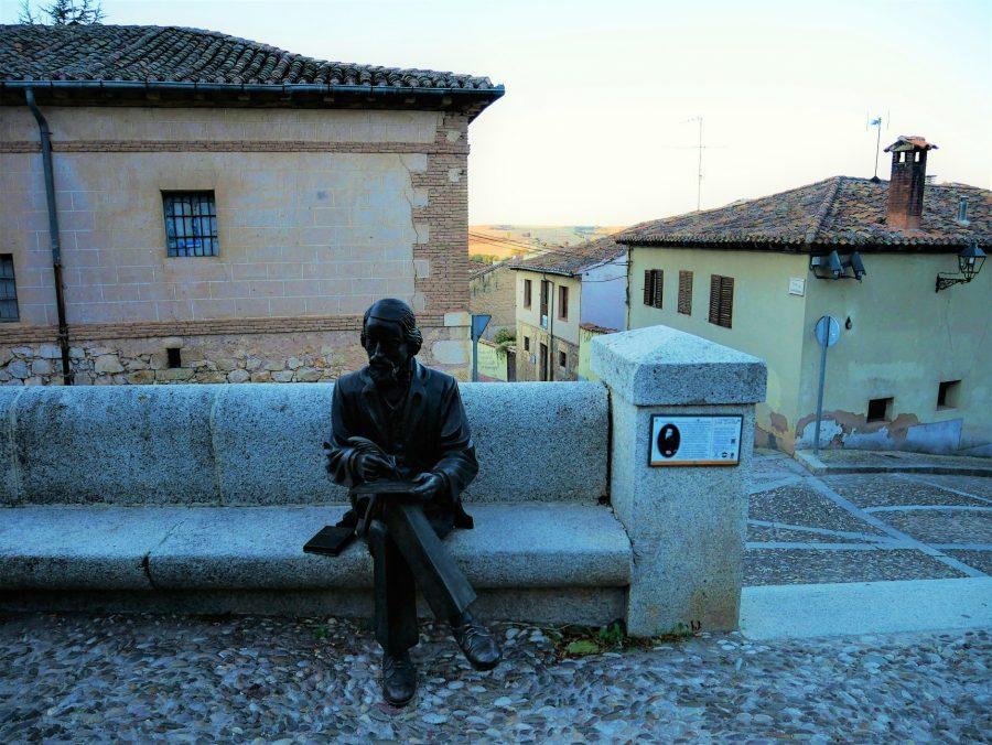 Estatua de José Zorrilla en Lerma