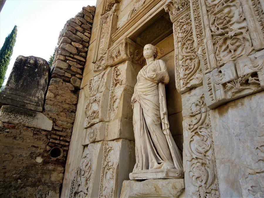 La biblioteca de Celso, visitar Éfeso