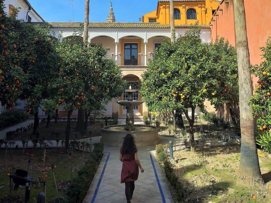 Patio del Alcázar, Sevilla en un fin de semana