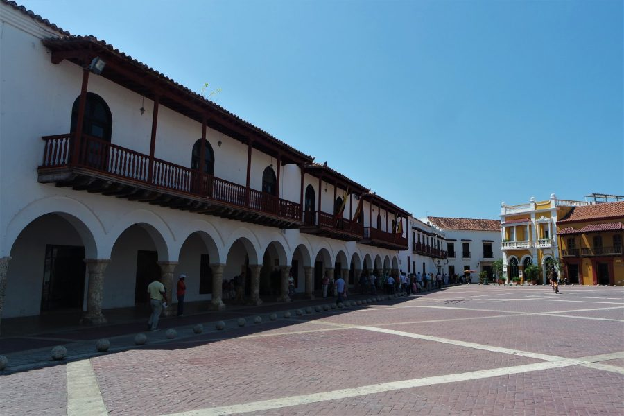 Plaza de la Aduana, Cartagena de Indias