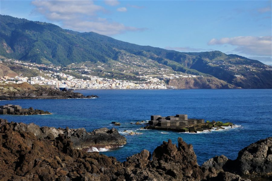 Santa Cruz de La Palma desde Los Cancajos