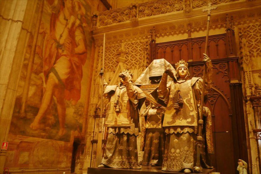 Tumba de Colón, catedral de Sevilla