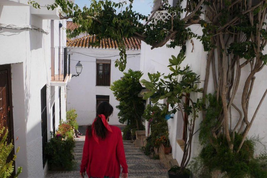 Calle del Castillo de Salobreña