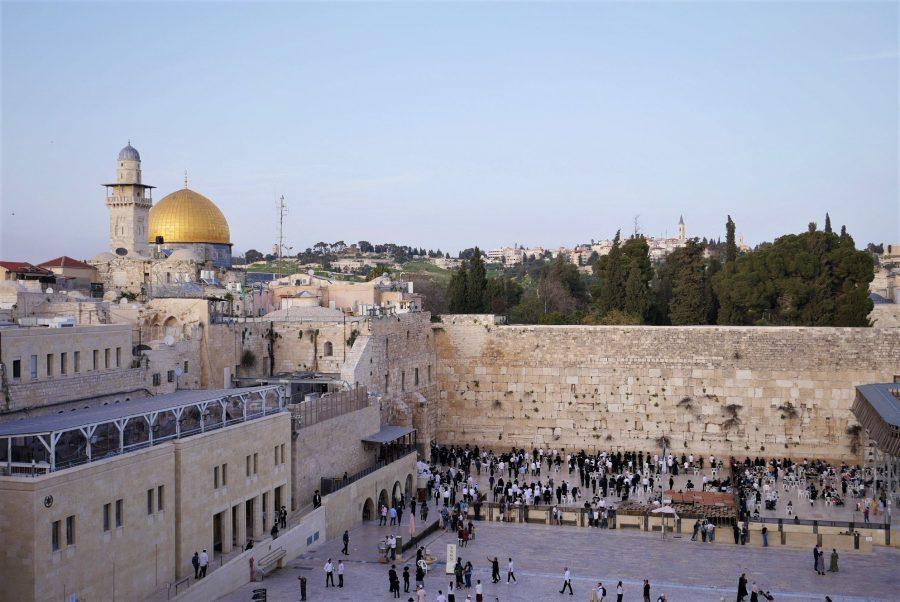 El Muro de las Lamentaciones de Jerusalén