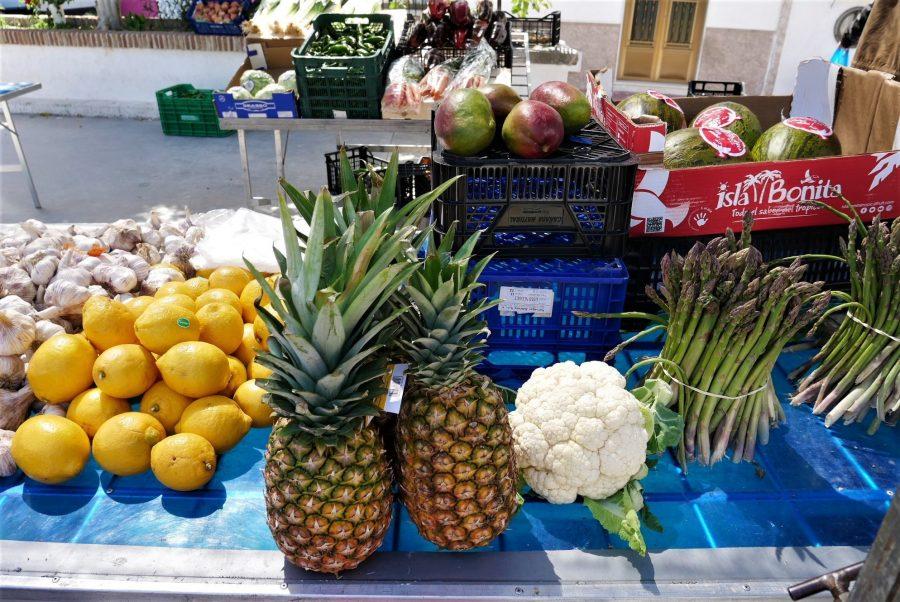 Mercado de frutas, Salobreña