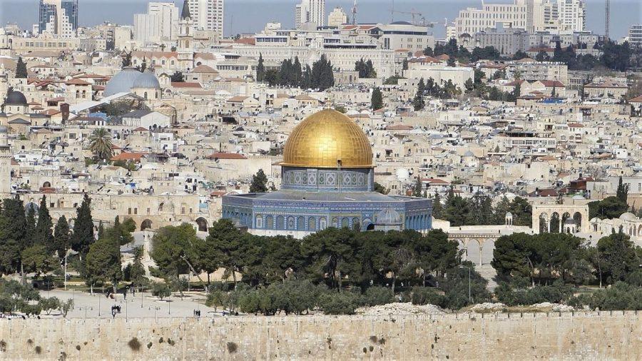 Vistas de Jerusalén, preparativos para viajar a Jordania e Israel
