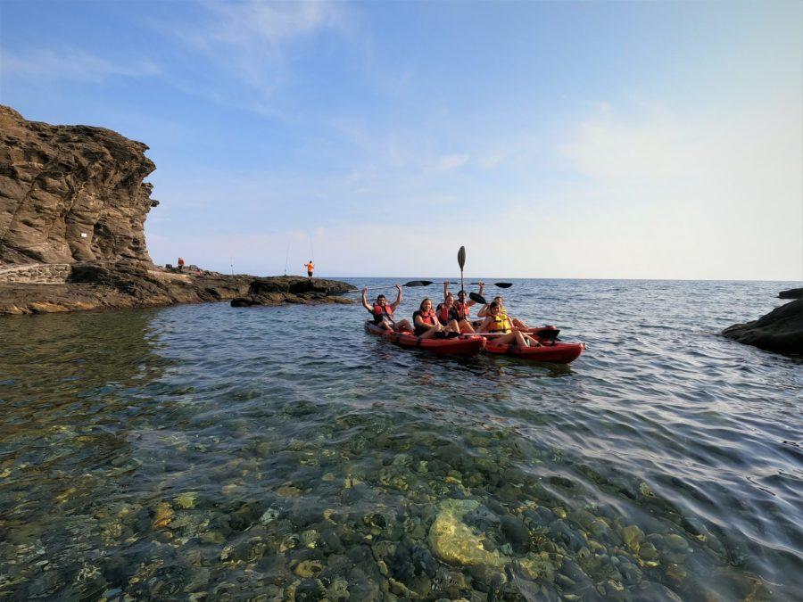 Kayak en el Caletón