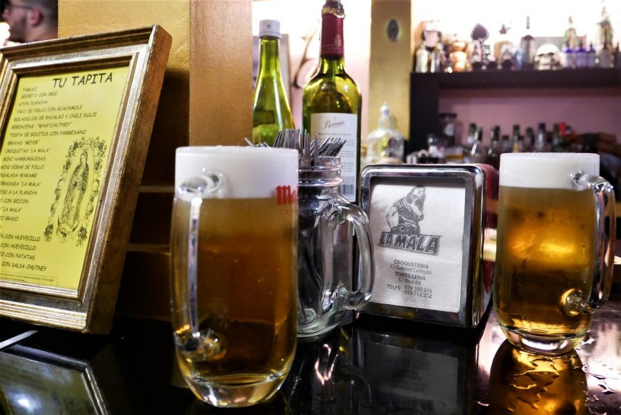 Cervezas en la Mala, bares de tapas de Almería