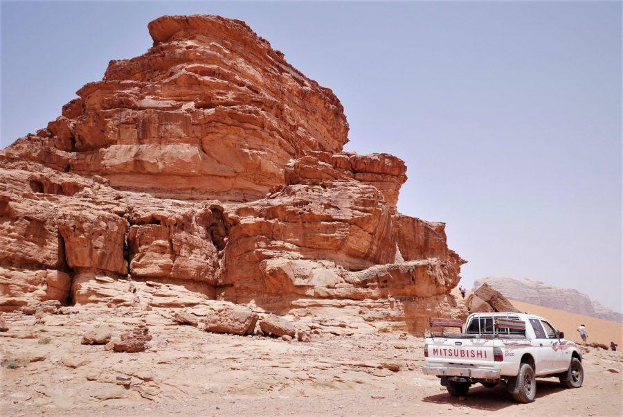 Wadi Rum, cruzar la frontera de Israel a Jordania