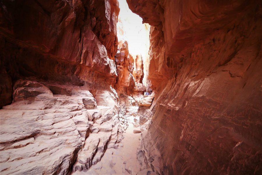 Cañones en Wadi Rum