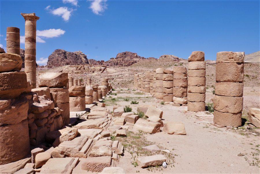 El Gran Templo romano, visitar Petra en 2 días