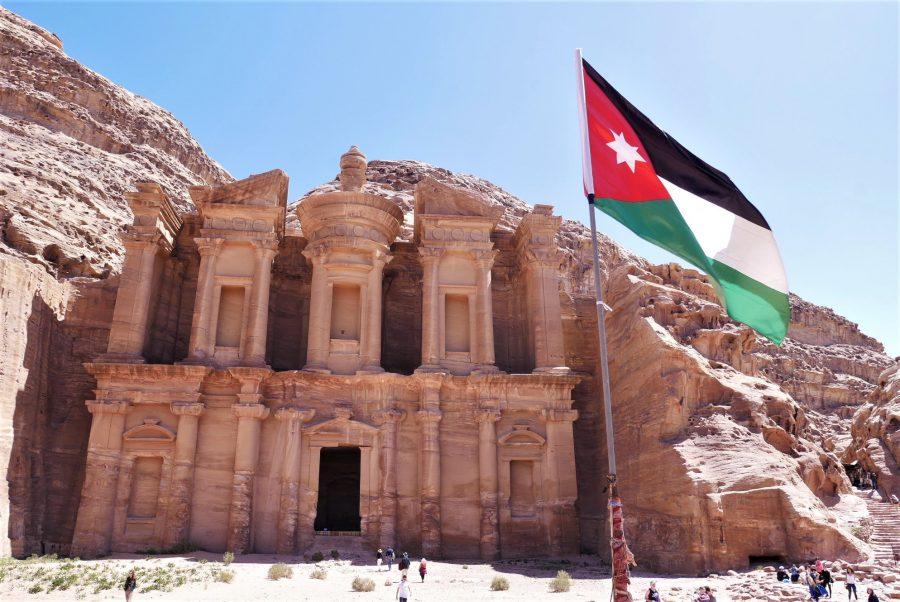 Fachada del Monasterio, visitar Petra en 2 días