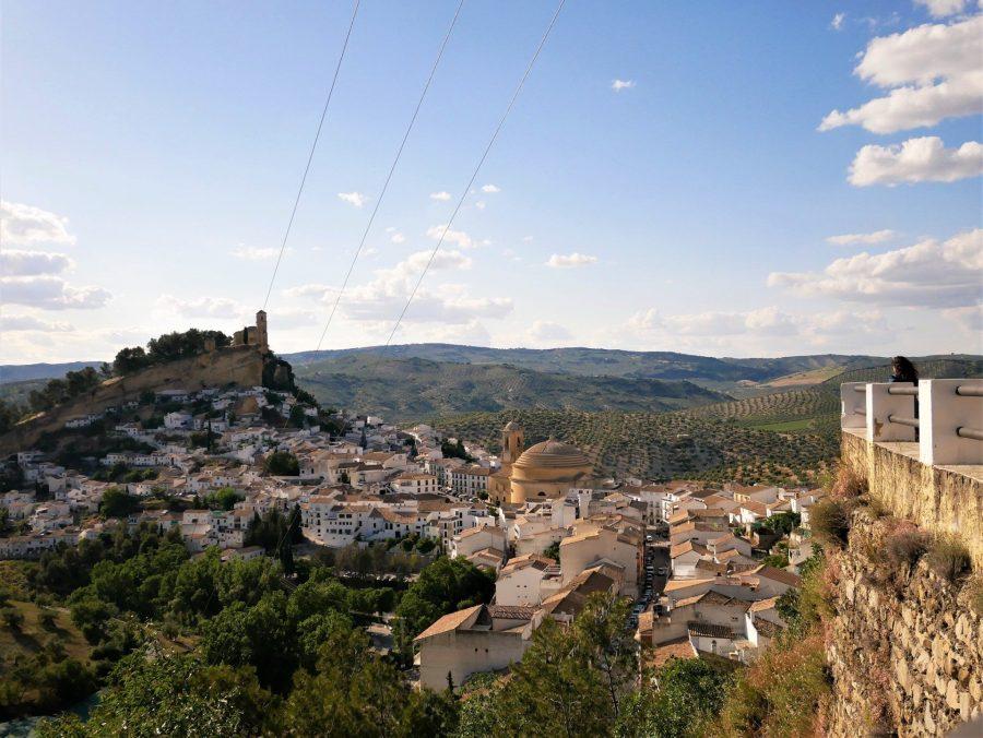 Montefrío desde el mirador de National Geographic, los pueblos más bonitos de Granada
