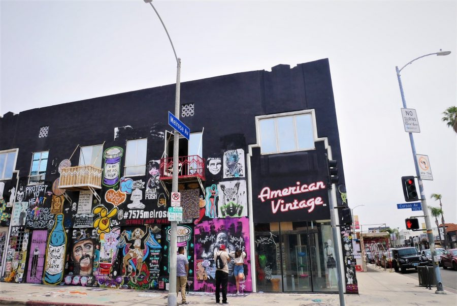 Murales de Melrose Avenue
