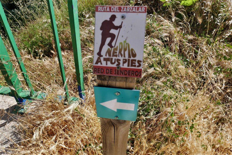 Red de senderos de Nerpio