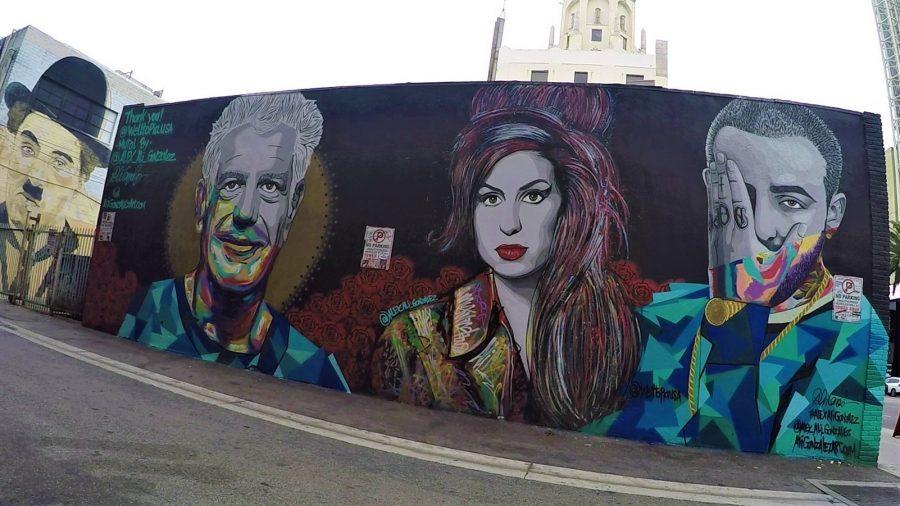 Ruta de murales y graffitis de Los Angeles California