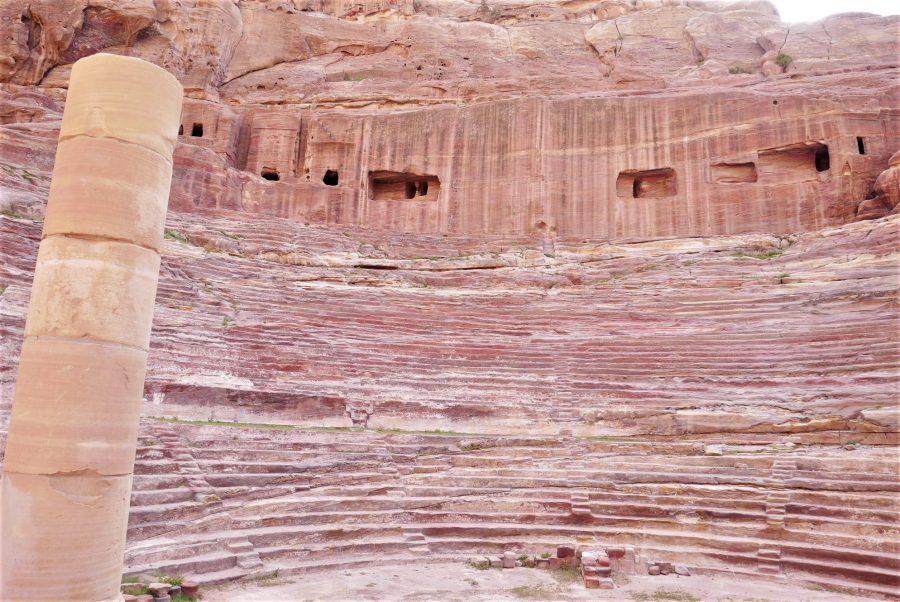 Teatro nabateo, visitar Petra en 2 días
