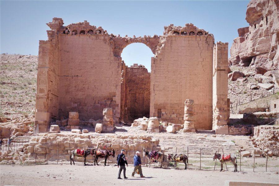 Templo en Petra