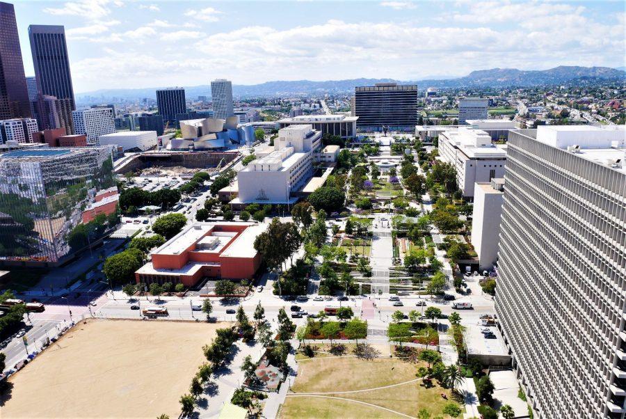 Vistas de Los Ángeles desde el City Hall