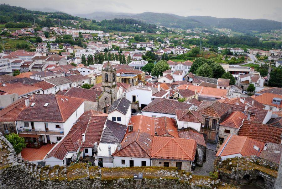 Vistas de Melgaço desde el castillo