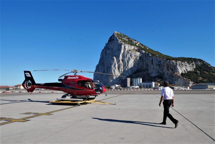 Vuelo en helicóptero en Gibraltar