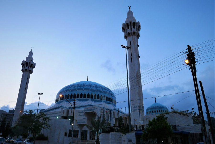 mezquita del rey Abdallah, qué ver en Ammán en un día