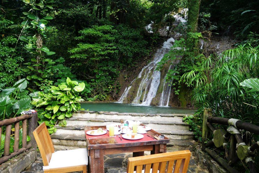 Desayuno en el Platón Ecologde, Paraíso